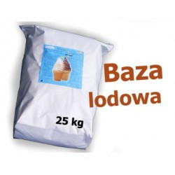 Baza do lodów nat. z past. 25kg