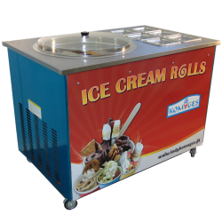 """Maszyna do lodów """"ROLLS"""" produkcja na """"oczach"""" klienta"""